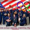 Dr. Derickson holiday card to patients - Olympics theme